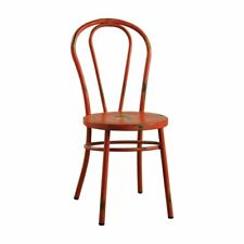 ACME Furniture 96812 Cerys Antique Orange Side Chair Set of 2