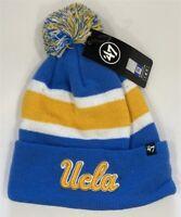 UCLA Bruins NCAA '47 Brand Beanie Knit Ski Cap Hat Brand New