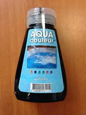 "COLORANT PISCINE OU SPA BLEU ""LAGON"" AQUACOULEUR - FLACON 180 ML"