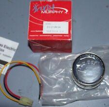 *NEW* Murphy 16-36 Amp Electric Voltmeter Gauge Gage 24 VDC - EG21VM-24
