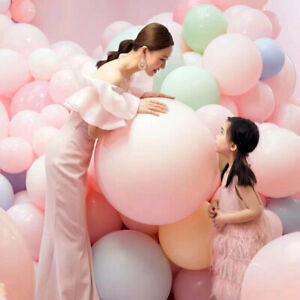 5pcs/lot 36 inch balloons Jumbo Pastel Big Helium  balloon Pink Latex balloon We