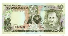 Tanzania  10 shilingi  1978   FDS UNC       pick 6b  rif 66