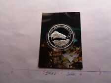 Apache Trout Fish National Fishing Grand Slam 999 Silver Coin Info Card Rare #C