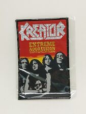 Kreator Extreme Aggression patch t-shirts, Jacket Iron on Woven Badge U.S Seller