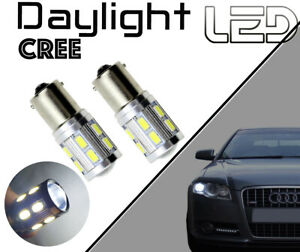 Peugeot RCZ 2 Ampoules LED CREE Blanc P21/5W  Feux jour Diurne de roulage
