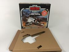 Replacemant Vintage Star Wars ESB Palitoy BATTLE DAMAGED X-Wing BOX + inserti