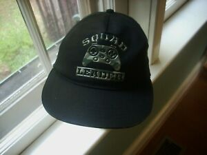 Youth XL size 16 Snapback Squad Leader LOGO Cap Hat all cotton NWOT