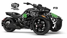 "Can Am Spyder F3 F3S Decal Graphic Wrap kit - ""CELTIC VIBES"""