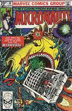 Micronauts  #30  VF+
