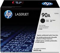 HP 90A CE390A Black Toner Cartridge LaserJet Enterprise 600 M4555