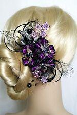 Französische Haarspange Haarschmuck Kanzashi Blumen  Haarblumen Haarklammer