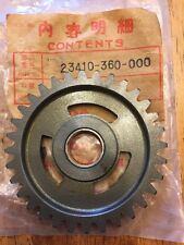 Honda NOS Countershaft Low Gear CR125 CR 125 23410-360-000