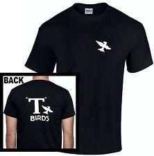 T Birds T-Shirt Grease John Travolta Top Bird Men Kids  Rydell High 80s Retro