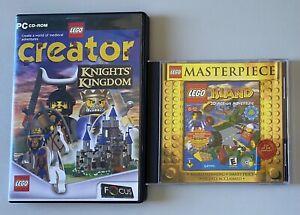 Lego Island & Lego Creator Knights Kingdom - postage tracked