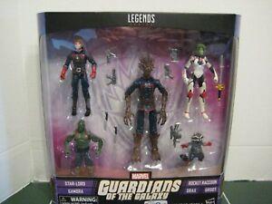 Marvel Legends Guardians of the Galaxy Exclusive Set of Five Rocket Gamora Drax