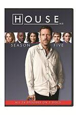 House: Season Five [New DVD] Boxed Set, Snap Case