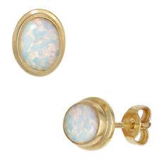 Natürliche Ohrschmuck im Ohrstecker-Stil mit echten Opal Edelsteinen