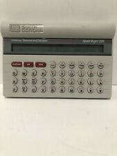 Vintage Smith Corona Spell-Right 200A, Spell Check, Dictionary, Thesaurus