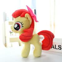 "Apple Bloom 30cm 12"" Pony Horse Cartoon MLP Stuffed Animal Plush Soft Toy Doll"