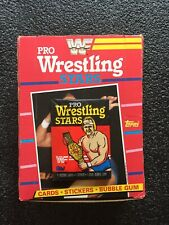 Vintage 1985 Topps WWF Pro Wrestling Stars Wax Pack (x1) Fresh from Box