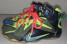 PRE-OWNED BOYS NIKE LEBRON XII SNEAKERS SIZE 4Y