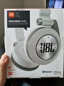 JBL Synchros E40BT Wireless Bluetooth Headphones