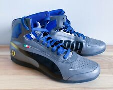 Puma Mens Sz 9.5 Evospeed 1.2 Ferrari Motorsport Shoes, Silver/Black/Blue