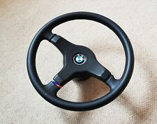 BMW E30 M-Tech 1 steering Wheel 385mm (E24 E28 E32) - Newly Refurbished