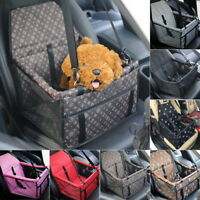 Pet Dog Booster Car Seat Safe Basket Puppy Travel Auto Carrier Bag Supply Newly
