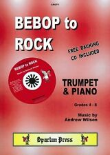 BEBOP TO ROCK Wilson Trumpet and Piano + free CD