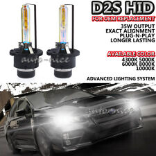 2x AC 35W D2S Headlight Low Beam Light Bright Xenon HID Bulb For OEM Replacement