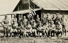 """Lafayette Escadrille Group,  World War 1, 7x5"""" Reprint Photograph  a"""