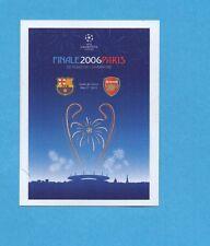 PANINI-CHAMPIONS 2010-2011-Figurina n.561- PARIGI FINALE 2006 -NEW BLACK