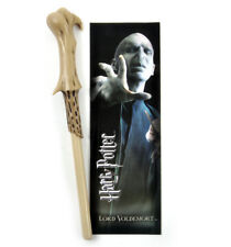 Lord Voldemort Pen Wand & Bookmark - Noble Collection Harry Potter Replica