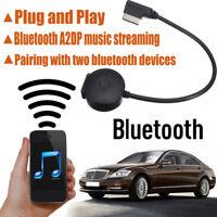 Schnittstelle schwarzer Bluetooth-Musik-Adapter für Kabel Mercdes-enz MMI AUX