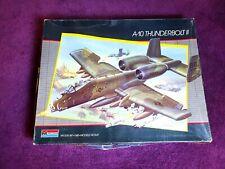 Monogram A-10 Thunderbolt II 1/48 Scale 1986 Vintage Model Aircraft 5505