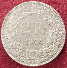 Switzerland 2 Francs 1944 (D2408)