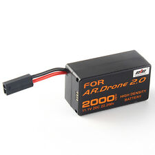 2000mAh 11.1V Rechargeable Battery For Aircraft Parrot AR.Drone 2.0 Quadcopter
