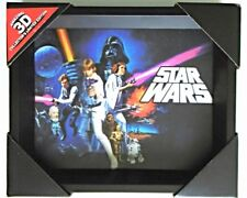 Star Wars 3D Lenticular Picture (A New Hope) Collector's Limited Edition BNIB