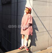 Korea ulzzang summer new pocket long short sleeve loose couple T shirt women TOP
