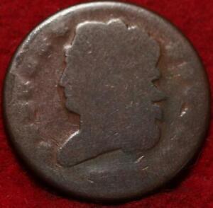1829 Philadelphia Mint Copper Classic Head Half Cent 13 stars