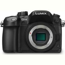 Panasonic Lumix DMC-GH4 Mirrorless Camera Body, Black #DMC-GH4KBODY