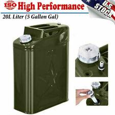 Jerry Can 5 Gallon Gas Gal Fuel NATO Military Metal Steel Tank Prepper 20L USA