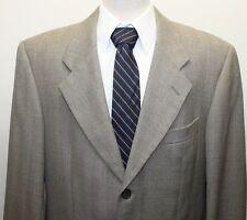 Guy Laroche Men 3 Button 100% Wool Greyish Brown Canada 42R Lined