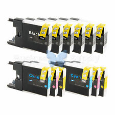 12+ PACK LC71 LC75 Ink Cartridge for Brother MFC-J280W MFC-J425W MFC-J435W LC75
