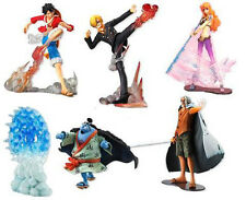 One Piece Attack Motions The New World BATTLE OF DEEP SEA Figure Set x 6