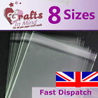 Clear Cello Bags for Greeting Cards | Plastic Cellophane Peel & Seal  *8 Sizes* <br/> Best Quality on eBay! Fast dispatch & friendly service