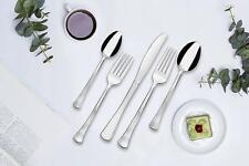 NEW Lorena Flatware ABRA 20-piece Silverware Set - Stainless 20pc Service for 4