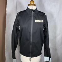 Windproof Cycling Jacket unisex. Size Medium. Black.Prudential Ride London Rare