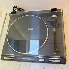1980s Quartz PIONEER Stereo Turntable PL-705 Record Player